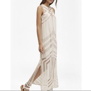 French Connection Alyssum lace maxi dress